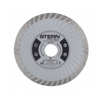 Disc diamantat turbo D125TW Stern, taiere umeda si uscata, 125 mm
