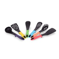 Set ustensile 6 piese DeKassa, silicon, Multicolor