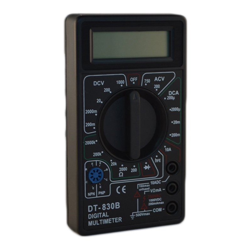 Multimetru digital DT-830B, masurare dioda 2021 shopu.ro