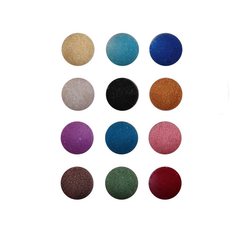 Decoratiune tip caviar pentru manichiura, 12 bucati, Multicolor 2021 shopu.ro