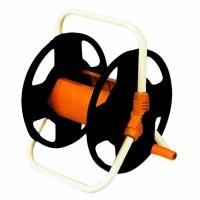 Derulator tambur pentru furtun Top Garden, 45 m, 1/2 inch, cadru metalic