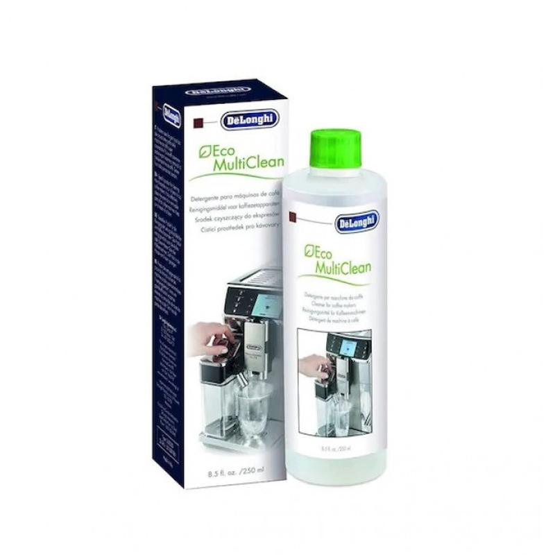 Detergent DeLonghi Eco Multi Clean, 250 ML, lichid, cana lapte, curatare sistem shopu.ro
