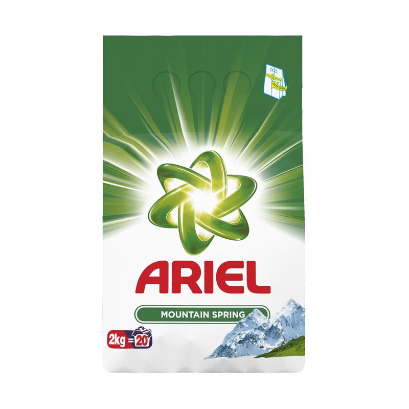 Detergent automat Mountain Spring Ariel, 2 kg 2021 shopu.ro