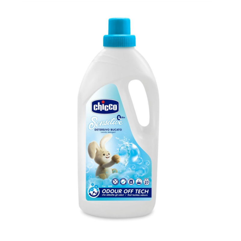 Detergent lichid de rufe Chicco, 1.5 l, hipoalergenic, 27 spalari 2021 shopu.ro