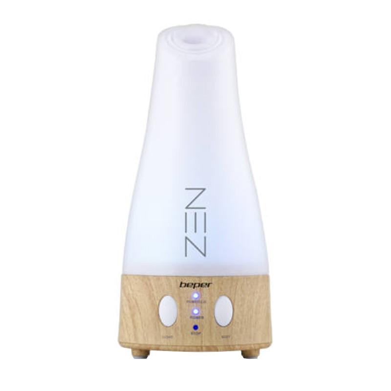 Difuzor aromaterapie Zen Beper, 9 W, LED RGB, 3 trepte 2021 shopu.ro