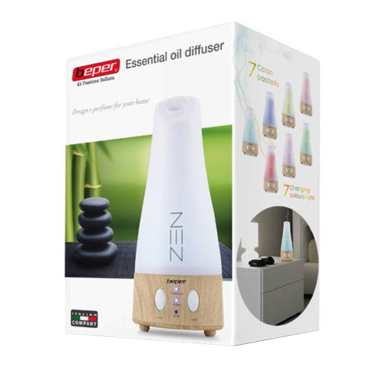 Difuzor aromaterapie Zen Beper, 9 W, LED RGB, 3 trepte