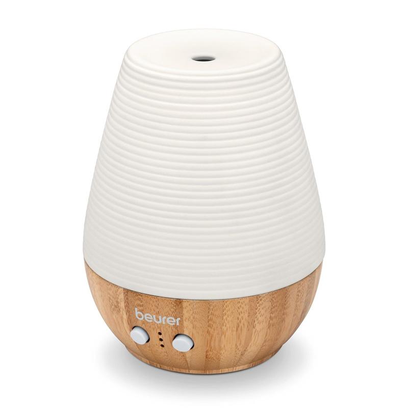 Difuzor arome Beurer, 12 W, LED, 180 ml, functie timer, tehnologie ultrasunete 2021 shopu.ro