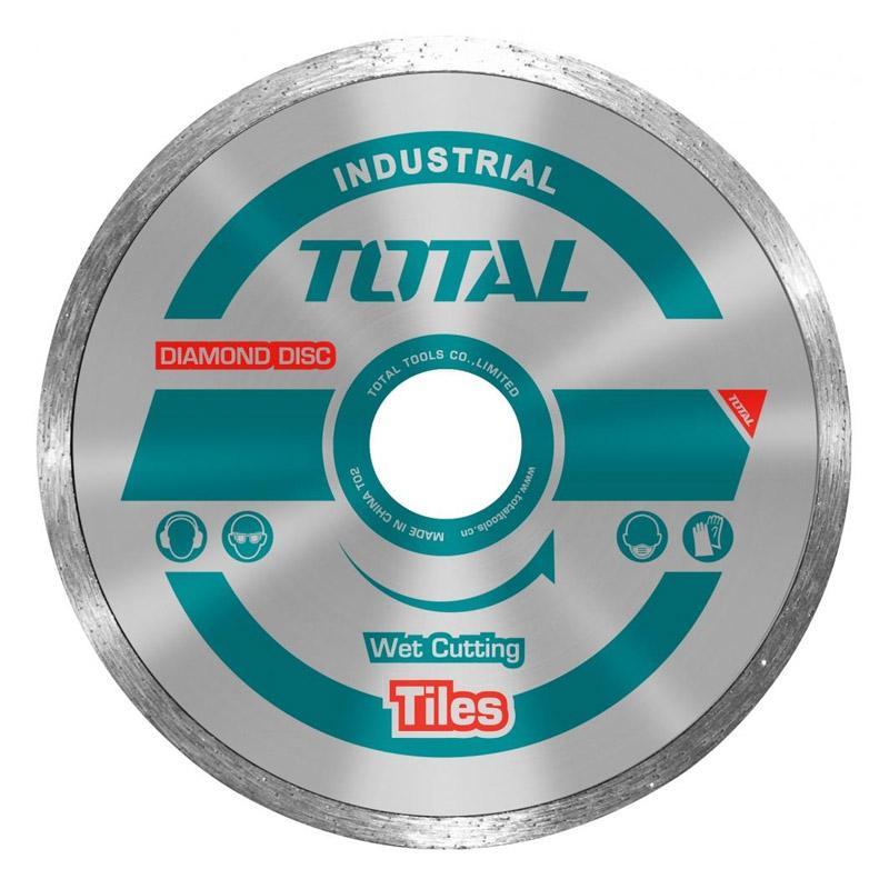 Disc diamantat continuu pentru ceramica Total, 180 mm 2021 shopu.ro