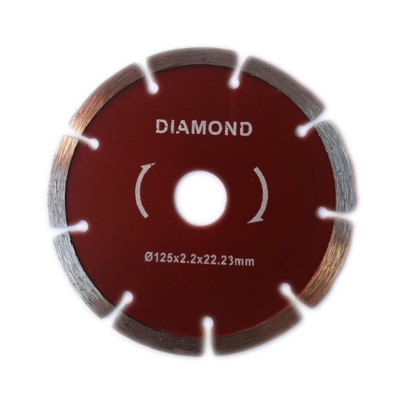 Disc diamantat pentru piatra Diamond, diametru 125 mm, 2.2 x 23 mm 2021 shopu.ro