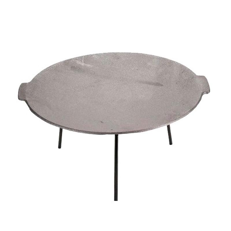 Disc pentru picnic Landmann Perfect Home, fonta, D 45 cm, cu 3 picioare shopu.ro