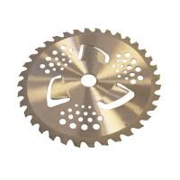 Disc vidia pentru motocositoare, 255 x 25.4 mm, 40 T, 3 x aripioare