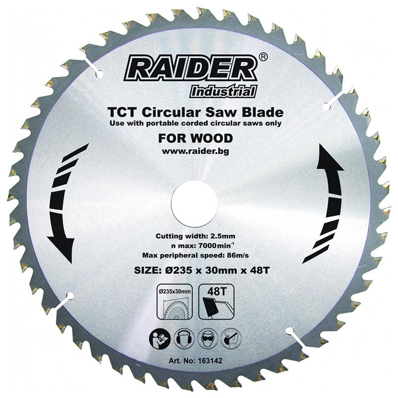Disc circular Raider, 235 х 30 mm, 48 T