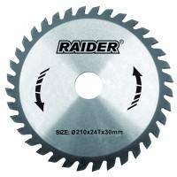 Disc circular Raider, 210 х 30 mm, 24 T