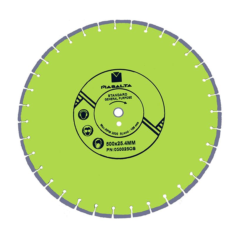 Disc diamantat Masalta, 450 mm, uz general shopu.ro