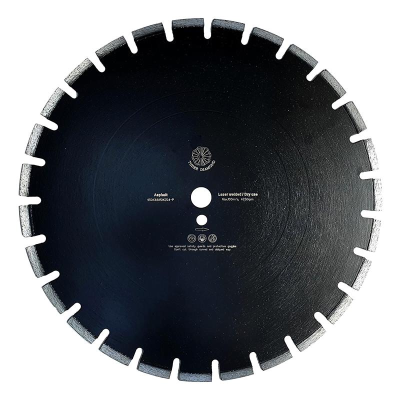 Disc diamantat pentru asfalt Tu-dee Diamond, 450 x 3.6 x 10 x 25.4 mm shopu.ro