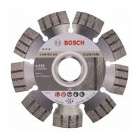 Disc diamantat pentru beton Best Bosch, 115 x 22.23 x 2.2 mm