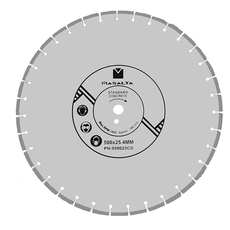 Disc diamantat pentru beton Masalta, 300 mm 2021 shopu.ro
