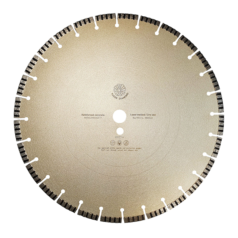 Disc diamantat pentru beton Tu-dee Diamond, 400 x 3.2 x 10 x 25.4 mm 2021 shopu.ro