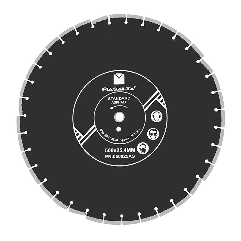 Disc diamantat profesional Masalta, 450 mm shopu.ro