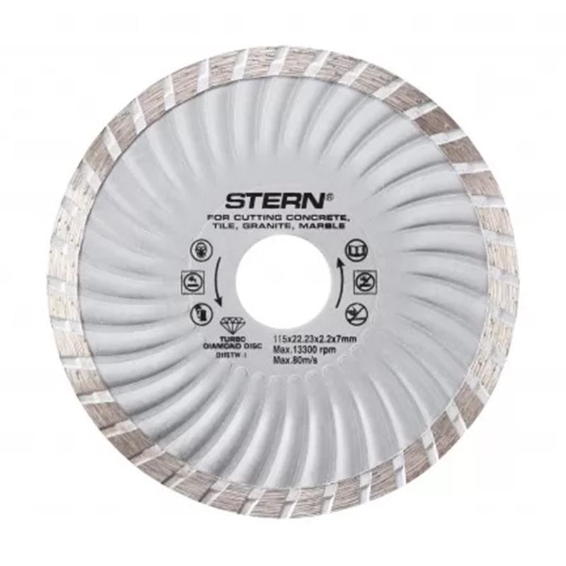 Disc diamantat turbo Stern, 115 x 2.2 x 7 mm 2021 shopu.ro