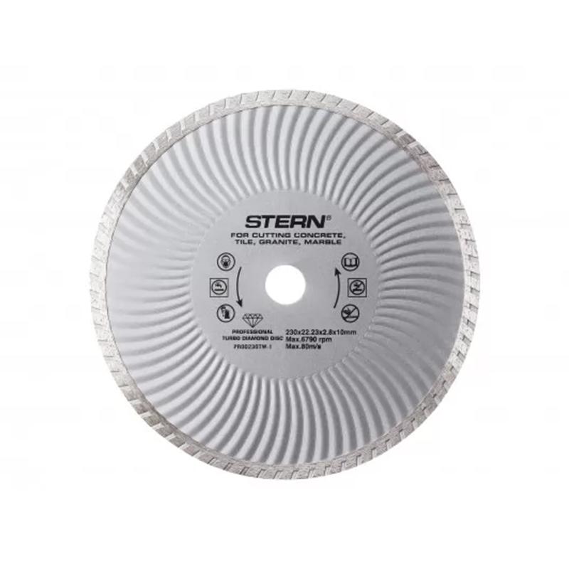 Disc diamantat turbo Stern, 230 x 2.8 x 10 mm
