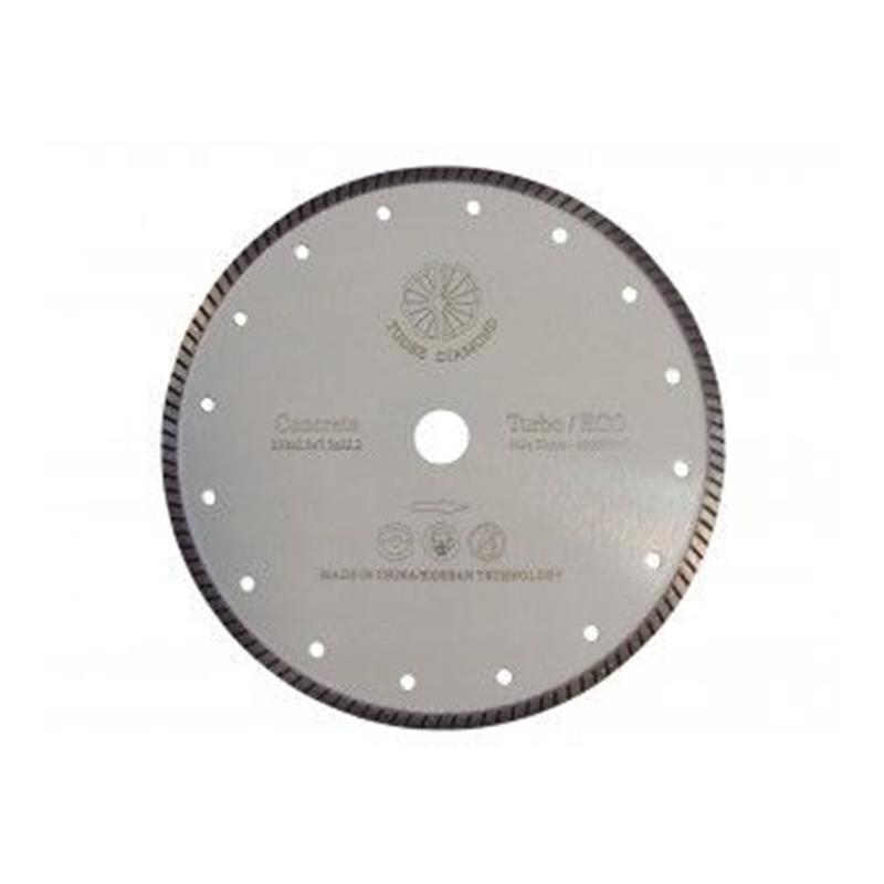 Disc diamantat turbo Tu-dee Diamond, 180 x 2 x 7.5 x 22.2 mm