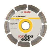 Disc diamantat universal Eco Bosch, 125 x 22.23 x 2 mm