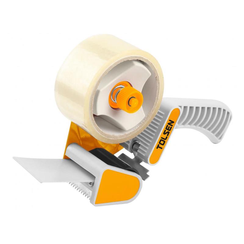 Dispenser banda adeziva pentru ambalare Tolsen, banda adeziva inclusa shopu.ro