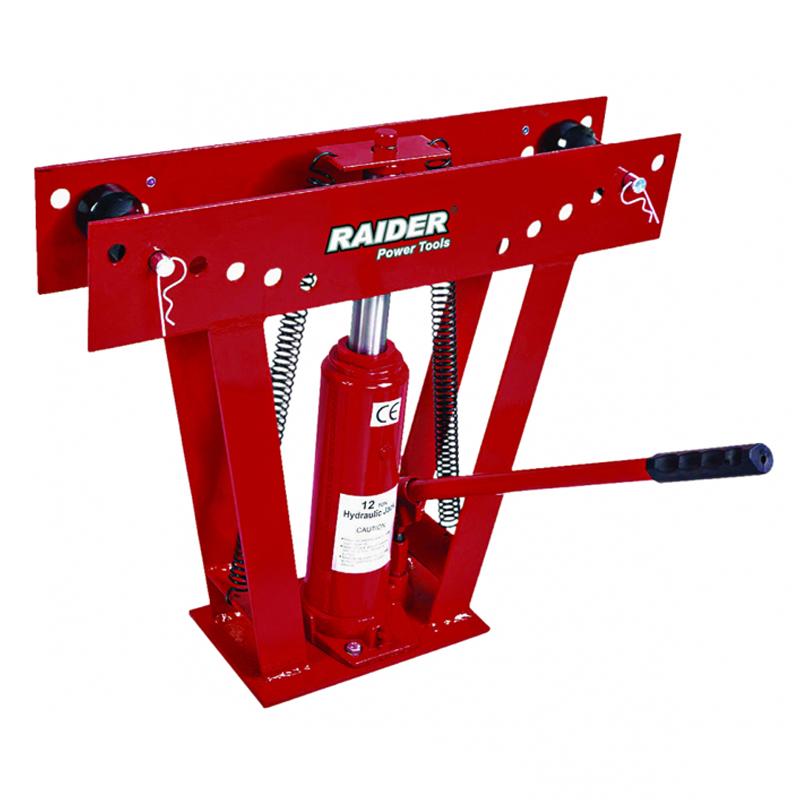 Dispozitiv hidraulic pentru indoire tevi RD-HPB01 Raider, 12 T, 1/2-2 sabloane 2021 shopu.ro