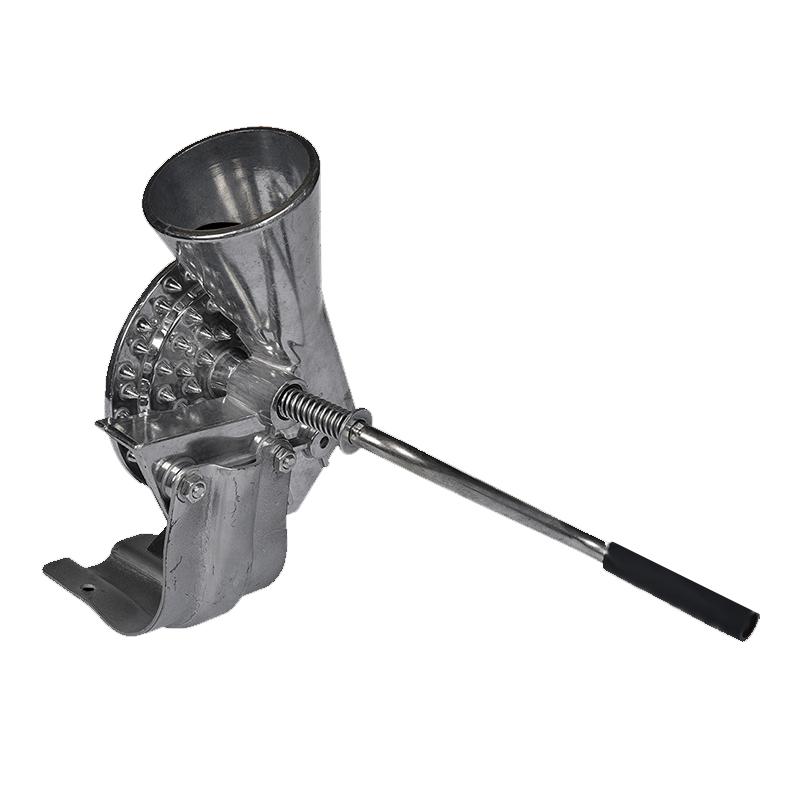 Dispozitiv pentru curatat porumb, 30 x 22 x 13 cm, aluminiu 2021 shopu.ro