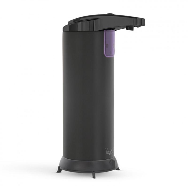 Dozator automat de sapun lichid Vog und Arths, 220 ml, fixare independenta, Negru 2021 shopu.ro