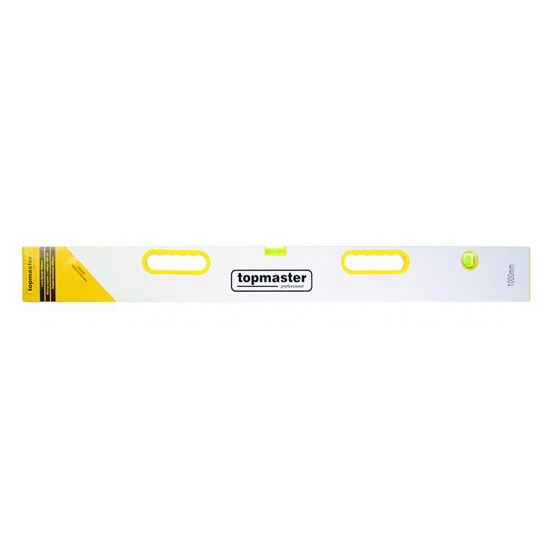 Dreptar aluminiu Top Master Pro, 3000 mm, 2 bule, 2 manere