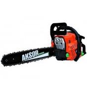 Drujba Aksor AGS55, 4500 W, 2 timpi, 4.7 cp, 9000 rpm, 110 dB, 550 ML, pas lant 0.325 inch, pornire sfoara, benzina, accesorii incluse