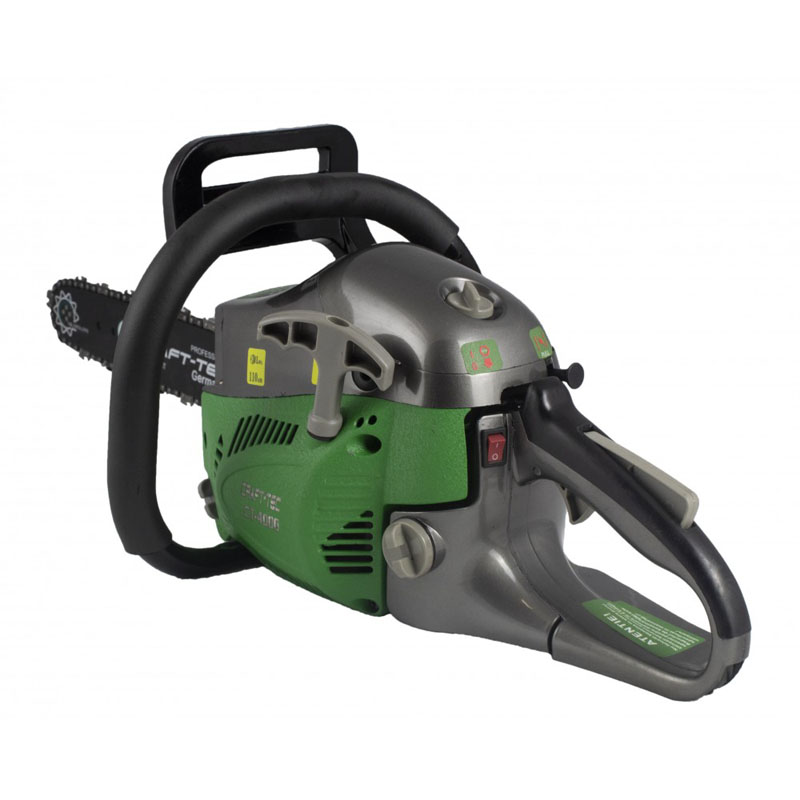 Drujba pe benzina Craft-Tec CT-4000, 4 CP, 52 CC, 2800 rpm, rezervor 680 ml, lama 40 cm, 28 dinti shopu.ro