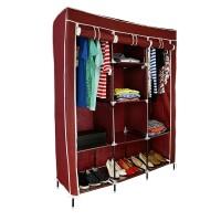 Dulap textil Storage Warderobe 26135B, 130 x 45 x 175 cm, 8 rafturi