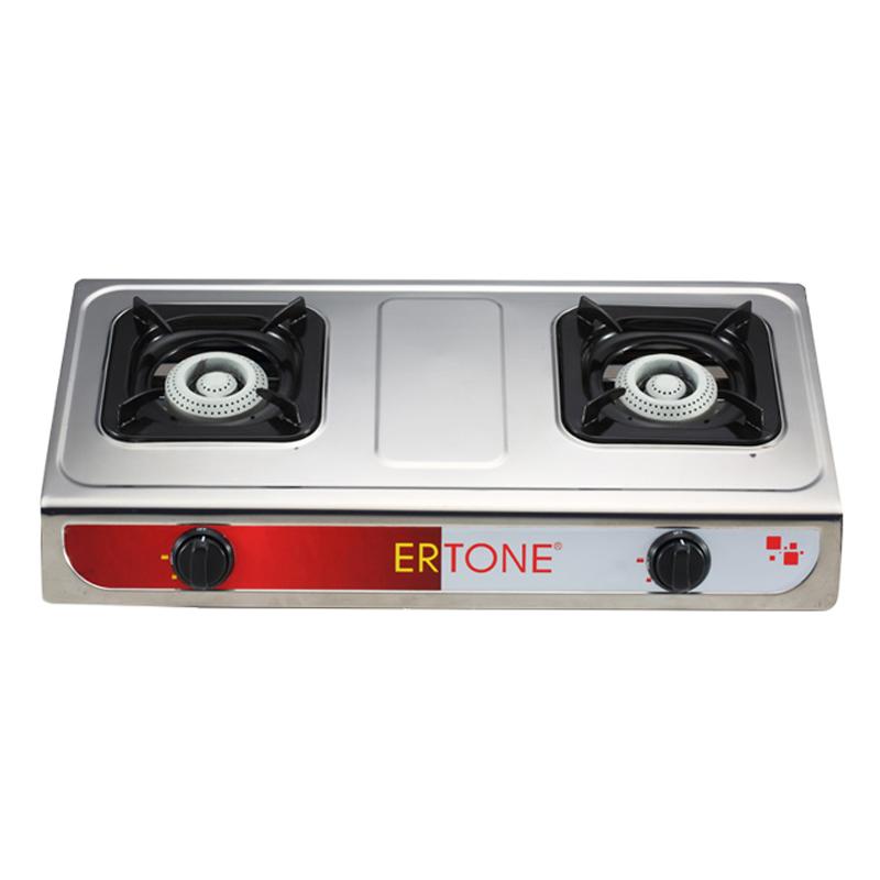 Minigaz GPL Ertone, 2 arzatoare, aprindere electronica