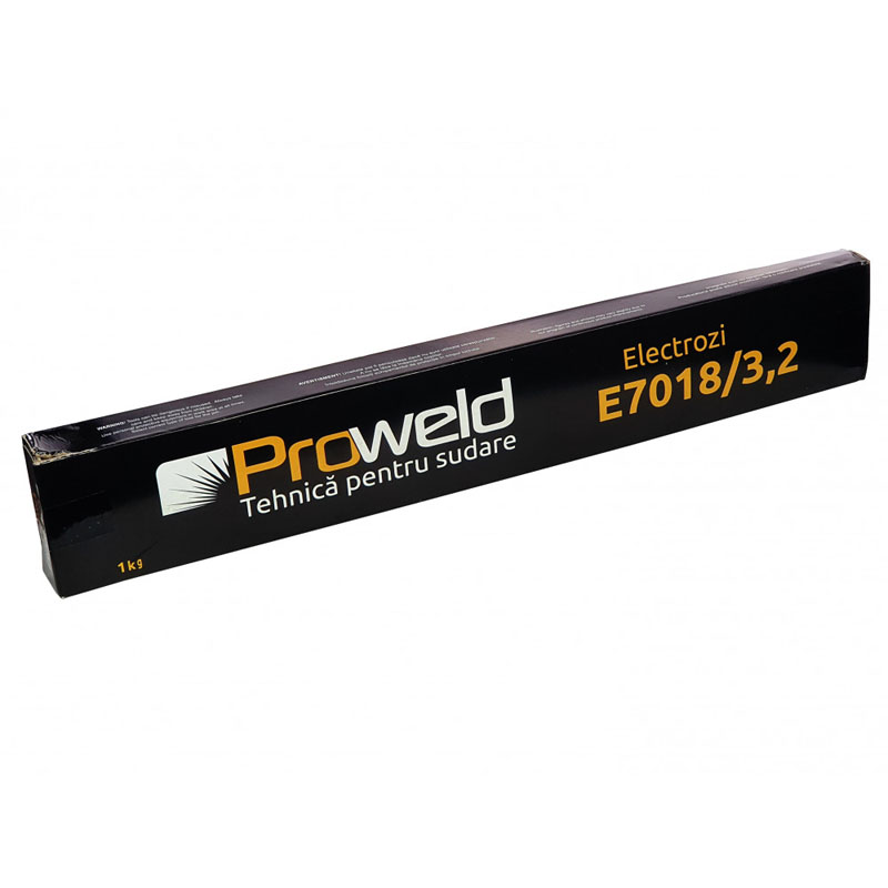 Electrozi bazici ProWeld E7018, 3.2 mm, 1 kg