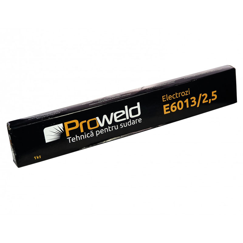 Electrozi rutilici ProWeld E6013, 2.5 mm, 1 kg
