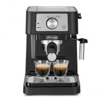 Espresor cu pompa DeLonghi Stilosa, 1100 W, 1 l, 15 bar, 2 duze cafea, Negru