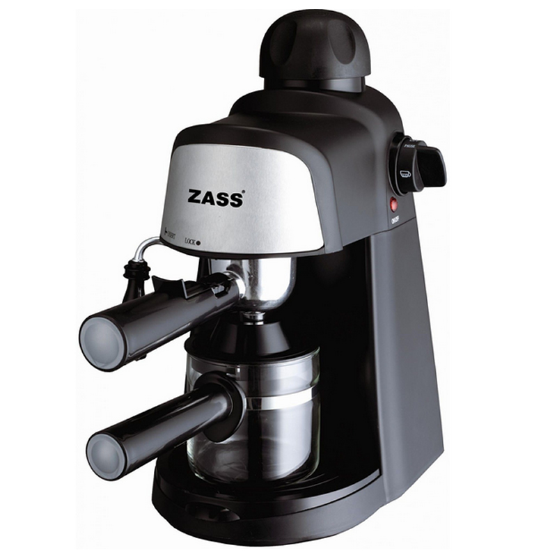 Espressor Zass, 800 W, 4 cesti, 5 bari 2021 shopu.ro