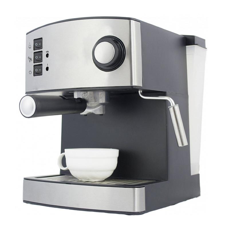 Espressor Zephyr, 15 bar, 1.6 L, 850 W, Argintiu/Negru 2021 shopu.ro