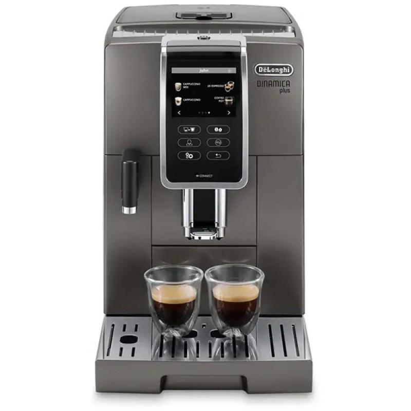 Espressor automat DELONGHI Dinamica, 1450 W, 1.8 L, 300 g, 19 bar, display TFT, Argintiu 2021 shopu.ro