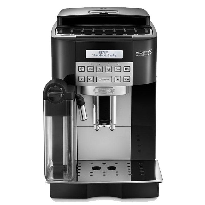 Espressor automat DeLonghi Magnifica S ECAM 22360 Blk, 1450 W, 15 bar, 1.8 l, rasnita 13 trepte integrata, Negru 2021 shopu.ro