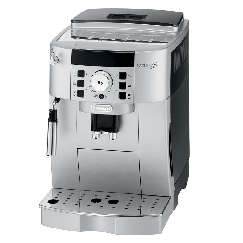 Espressor automat Delonghi, ECAM 22.110 SB, 1450 W, 15 bar, 1.8 l, rasnita 13 trepte, 2 duze, Argintiu 2021 shopu.ro