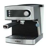 Espressor cafea Samus Espressimo, 850 W, presiune 15 bari, rezervor 1600 ml, Argintiu