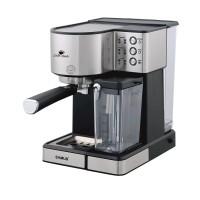 Espressor cafea Samus Latte Gusto, 1350 W, presiune 20 bari, rezervor 1800 ml, Argintiu