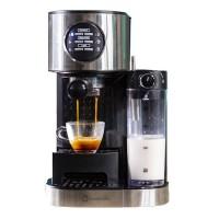 Espressor cafea Studio Casa Barista Latte SC509, 1470 W, 15 bar, 1.2 l, rezervor lapte 700 ml, Negru/Argintiu