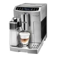 Espressor Ecam 510.55.M DeLonghi, 1450 W, 1.8 l, 15 bar, 6 cesti, display LCD, tava detasabila, functie spumare lapte, Argintiu