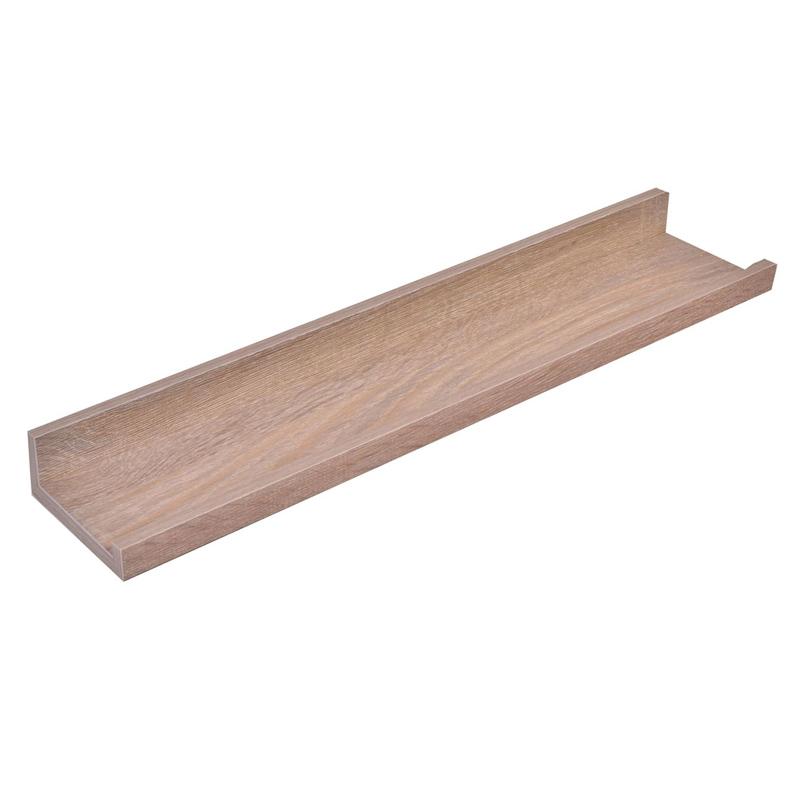 Etajera lemn pentru perete Home, 48 x 10 x 4 cm, sistem prindere ascuns shopu.ro