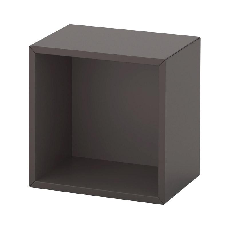 Etajera pal, 35 x 25 x 35 cm, negru